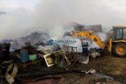 VIDEO - Patru familii din județul Cluj au rămas sub cerul liber, incendiul le-a distrus agoniseala de-o viață