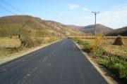 Sectorul de drum Nireş – Unguraş – Valea Unguraşului a fost asfaltat integral