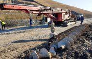 Au început lucrările de foraj pentru consolidarea depozitului de la Pata Rât