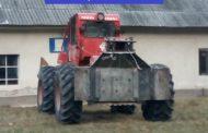 FOTO - Valea Ierii: T.A.F. confiscat de la hoții de lemne, la fel și peste 100 de m.c. de material lemnos. Două persoane reținute