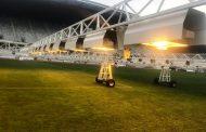Instalație de ultimă generație pentru regenerarea gazonului pe Cluj Arena