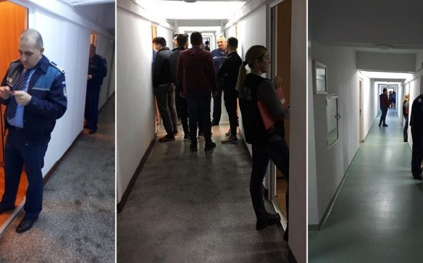 Studenții din Hașdeu treziți cu noaptea-n cap de polițiști