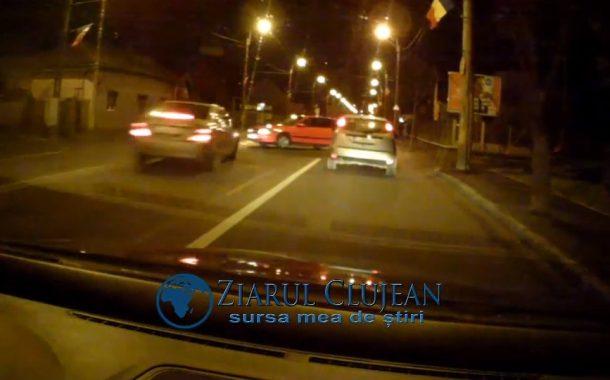 VIDEO - Accident surprins de o cameră de bord în Someșeni, 4 răniți