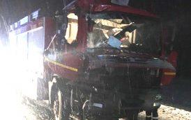 Salvatorii au avut nevoie de salvare. Pompierii din Huedin au făcut accident în drum spre un accident la care erau solicitați