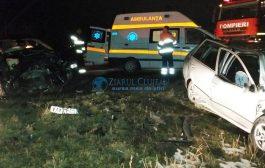 FOTO - Accident între Turda și Câmpia Turzii, doi răniți. Inconștiența face victime!